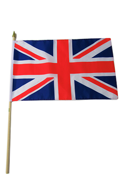 Union Jack Large Hand Flag