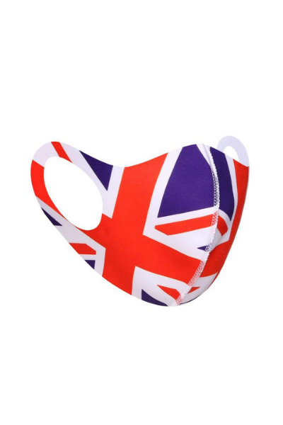 Union Jack Polyester Breathable Face Mask