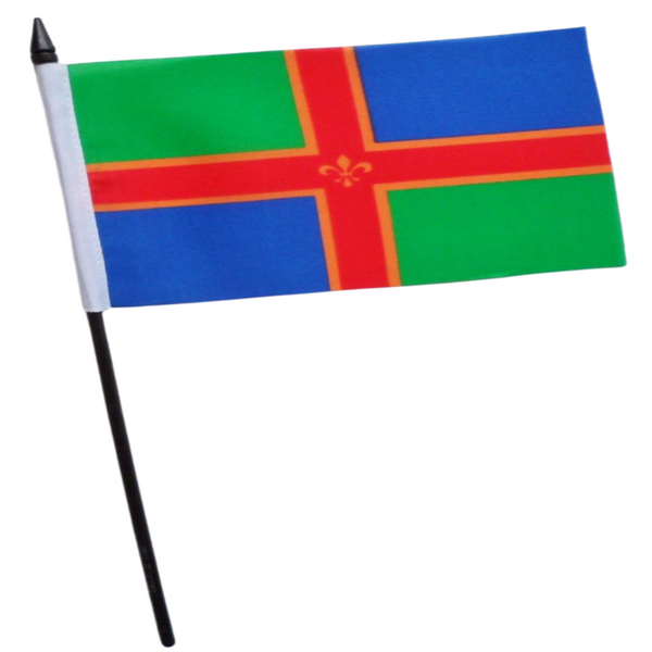 Lincolnshire Small Table Flag