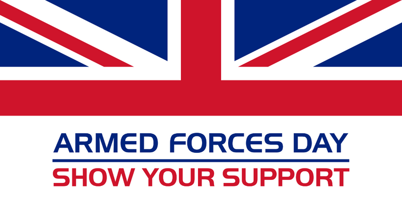 Armed Forces Day Large Table Flag