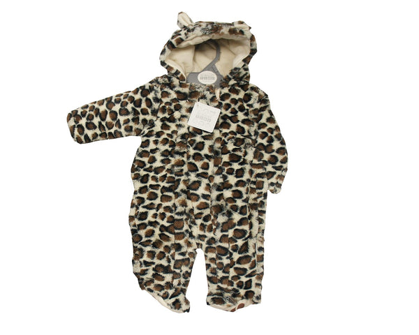 Nursery Time Leopard Print All in One