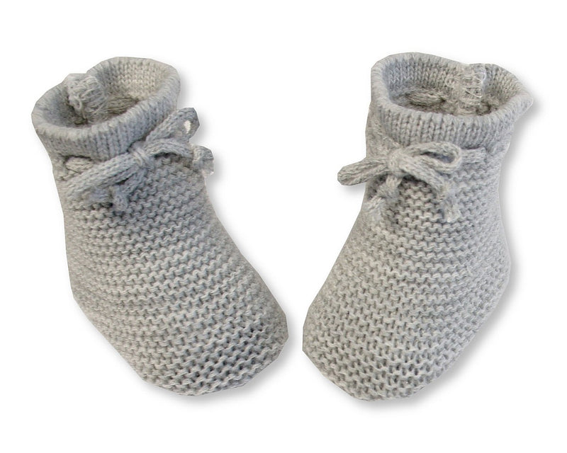 Nursery Time Knitted Baby Booties