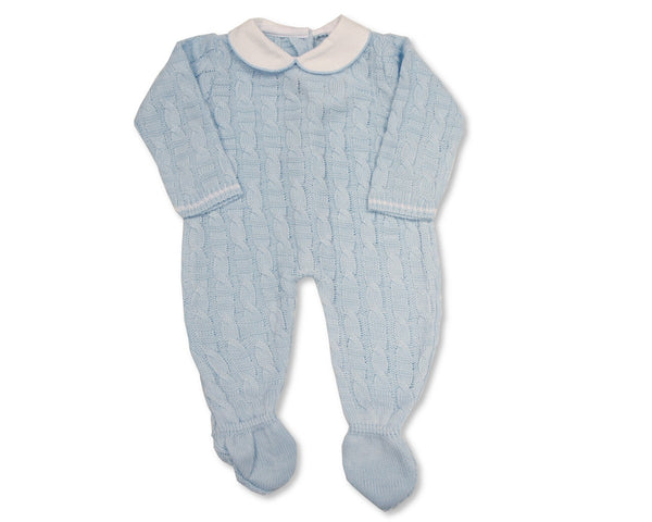 Nursery Time Baby Boys Knitted Romper