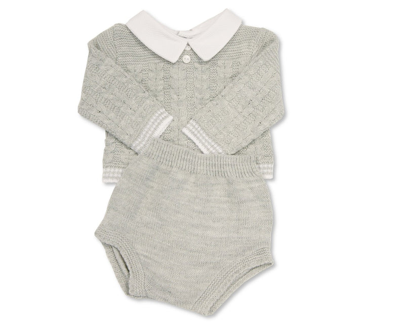Nursery Time Knitted Baby Outfit
