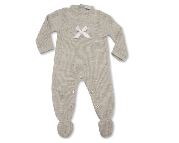Nursery Time Knitted Baby Romper