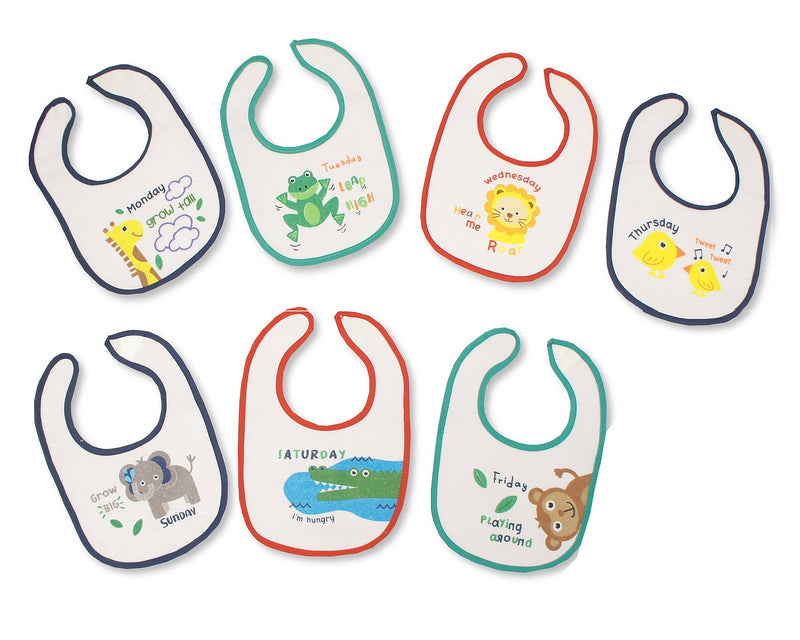 Days of the Week Animal Bibs