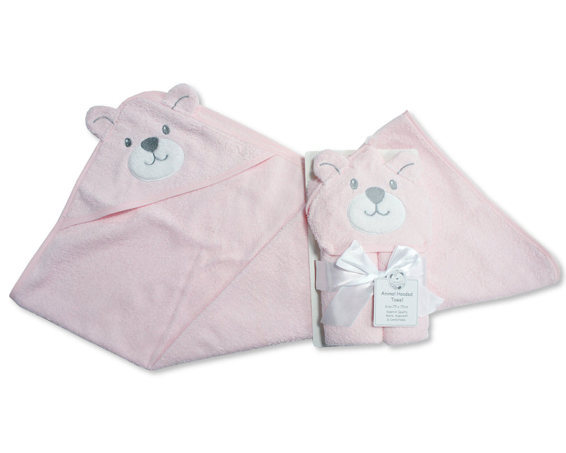 Baby Hooded Teddy Towel