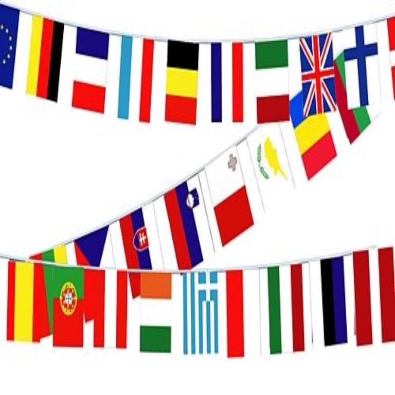 European Countries Bunting - 7.75m