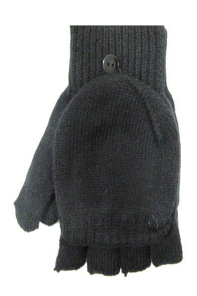 Thermal 2 in 1 Fingerless Mitten Glove