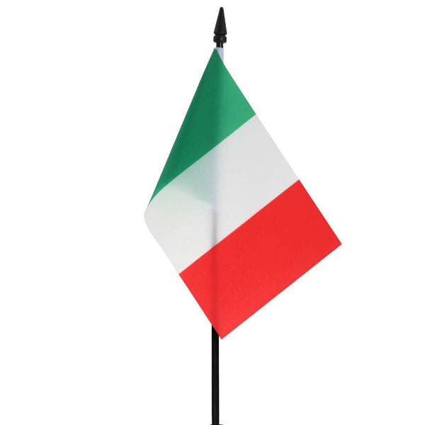 Italy Small Table Flag