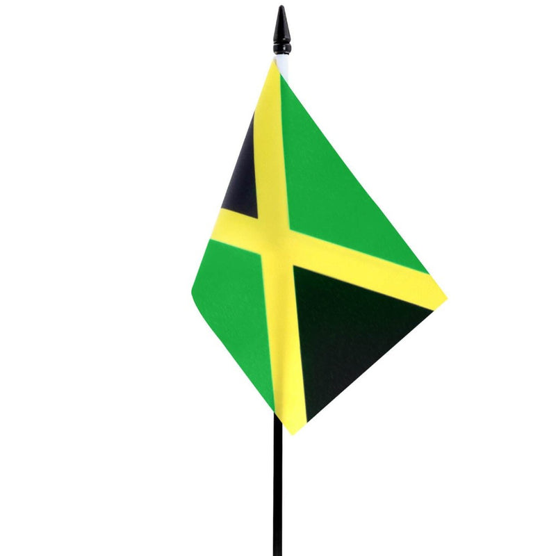Jamaica Small Table Flag