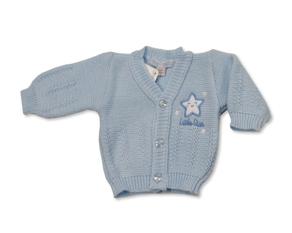 Premature Knitted Baby Boys' Cardigan