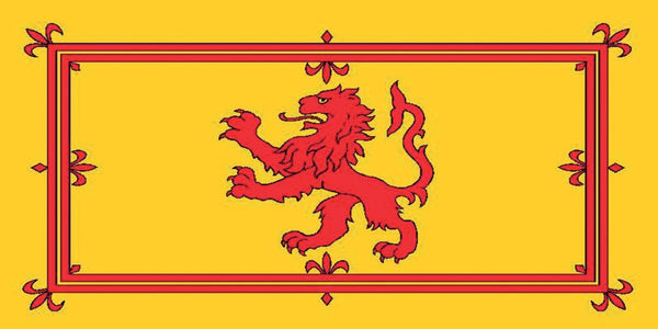 5ft x 3ft Scotland Lion Rampant Flag