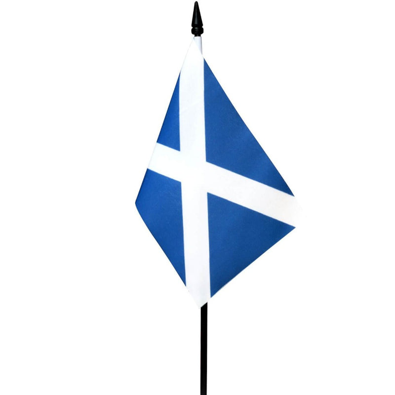 Scotland St Andrew Small Table Flag