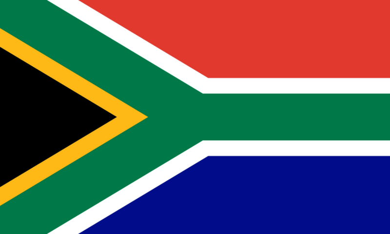 5ft x 3ft South Africa Flag