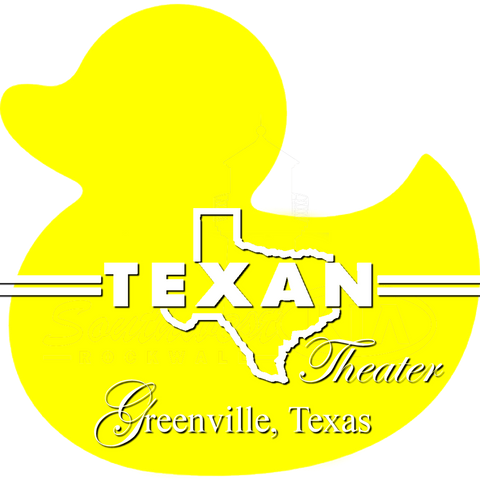 Texan Theater Logo Duck