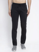 Mens Black Solid Lower