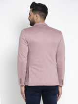 Mens Pink Long Sleeves Coat