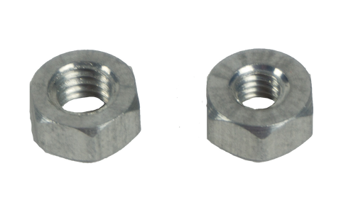 Aluminium Hex Nuts - DisTech Automation - 1