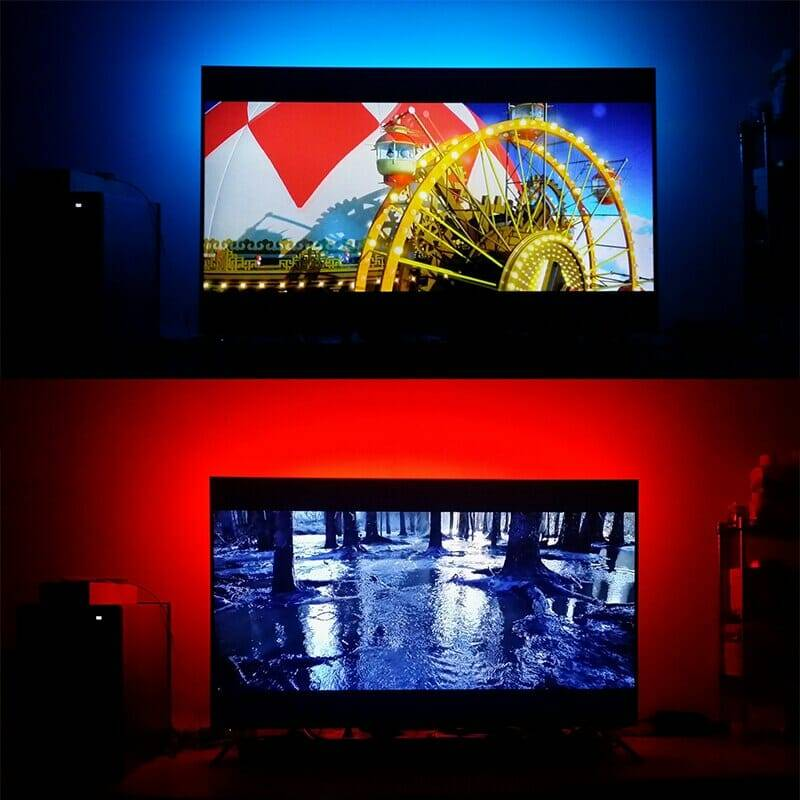 RGB USB LED Strip with Music Сontroller and RF Remote