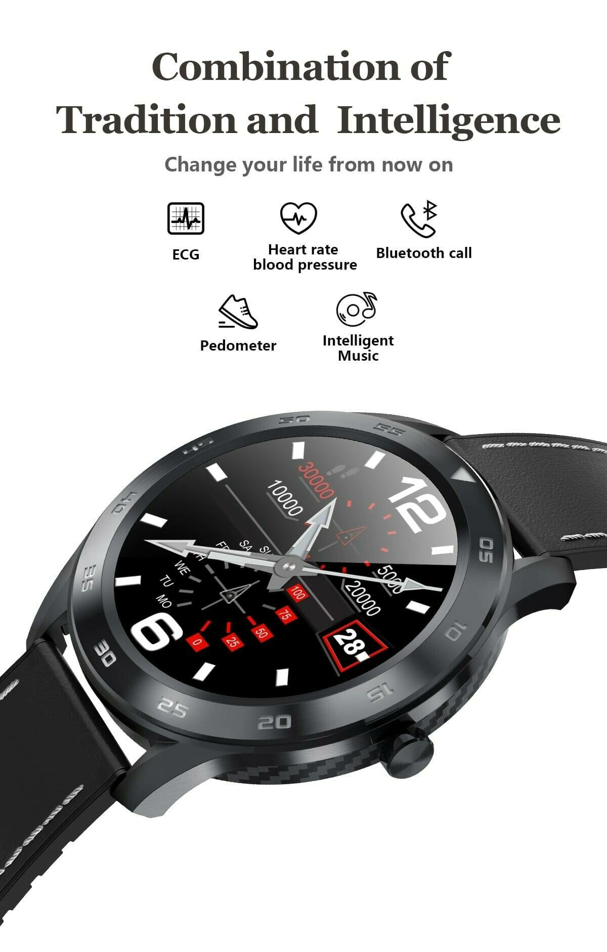 Full Touch Bluetooth Smart Watch for Men