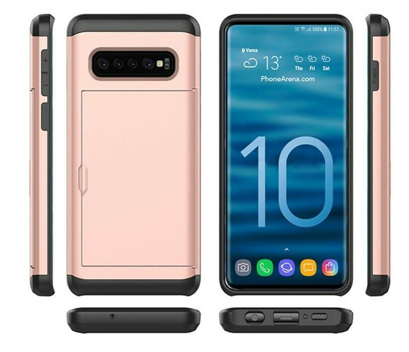 Armor Case with Card Holder for Samsung
