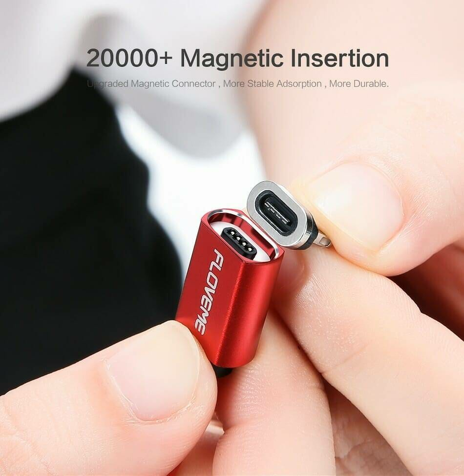 Magnetic Design USB Cable with LED Indicator