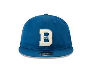 BKc x New Era Felt 'B' Varsity Cotton Cap Seashore Blue