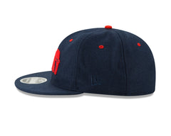 BKc x New Era Varsity Wool Cap Navy/Orange
