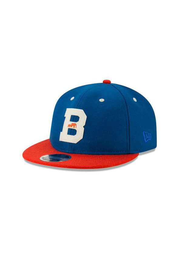 BKc x New Era Varsity Wool Cap Blue/Orange