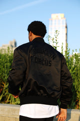 "BKc ""Brooklyn Spell Out"" Satin Jacket"