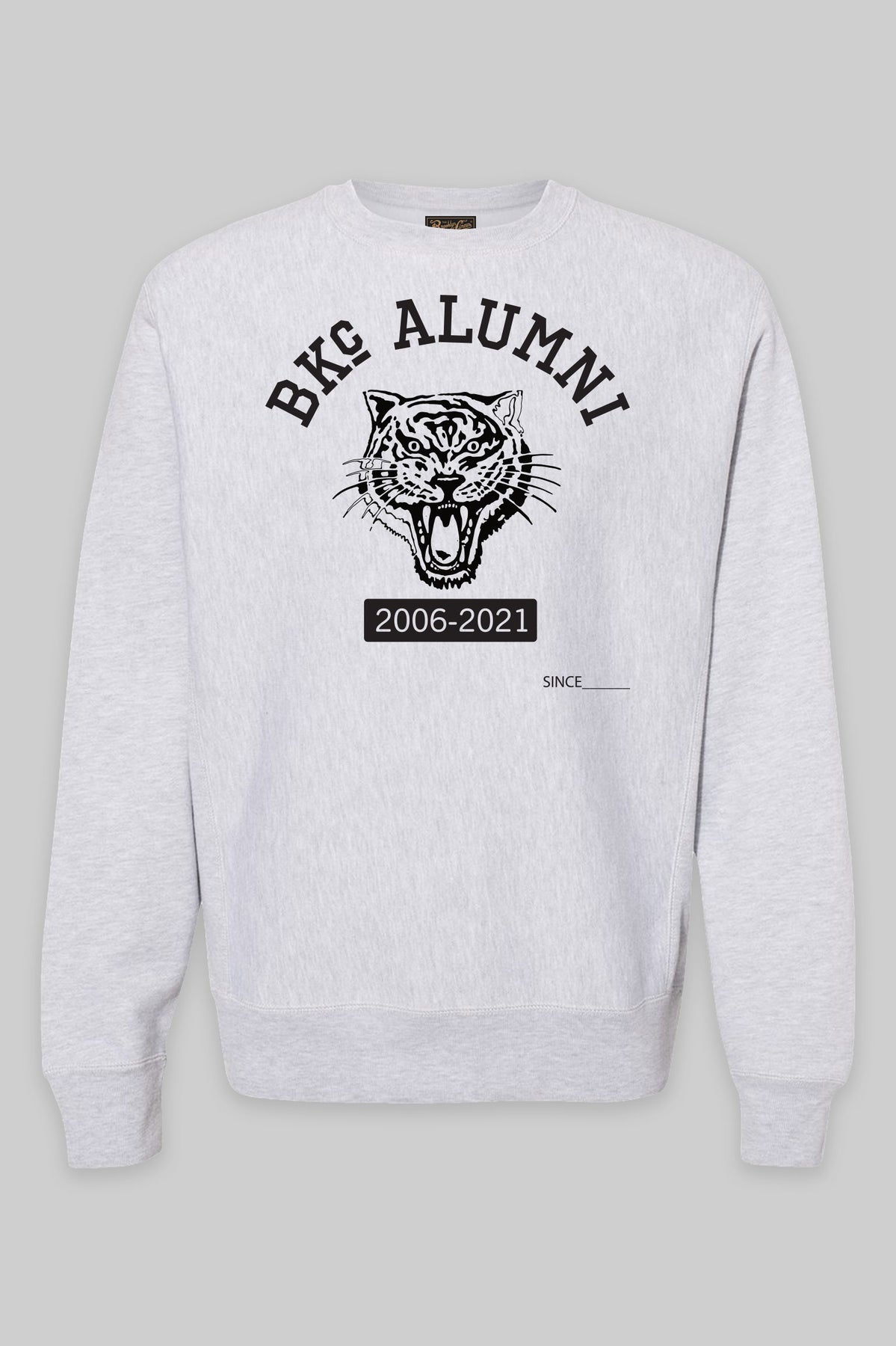 Anniversary Alumni crewneck heather/Black
