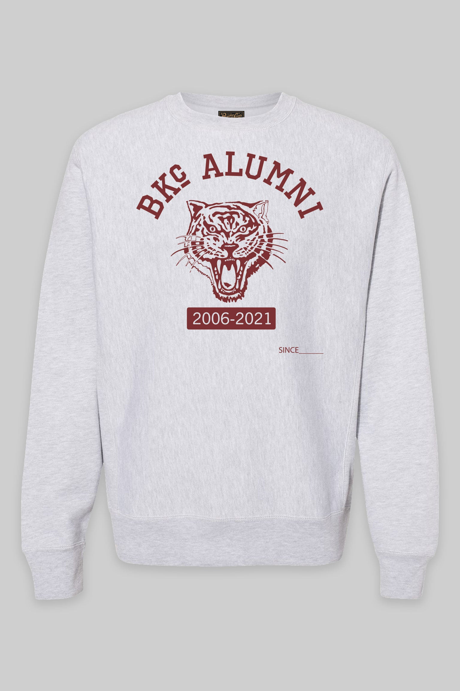 Anniversary Alumni crewneck heather/Red