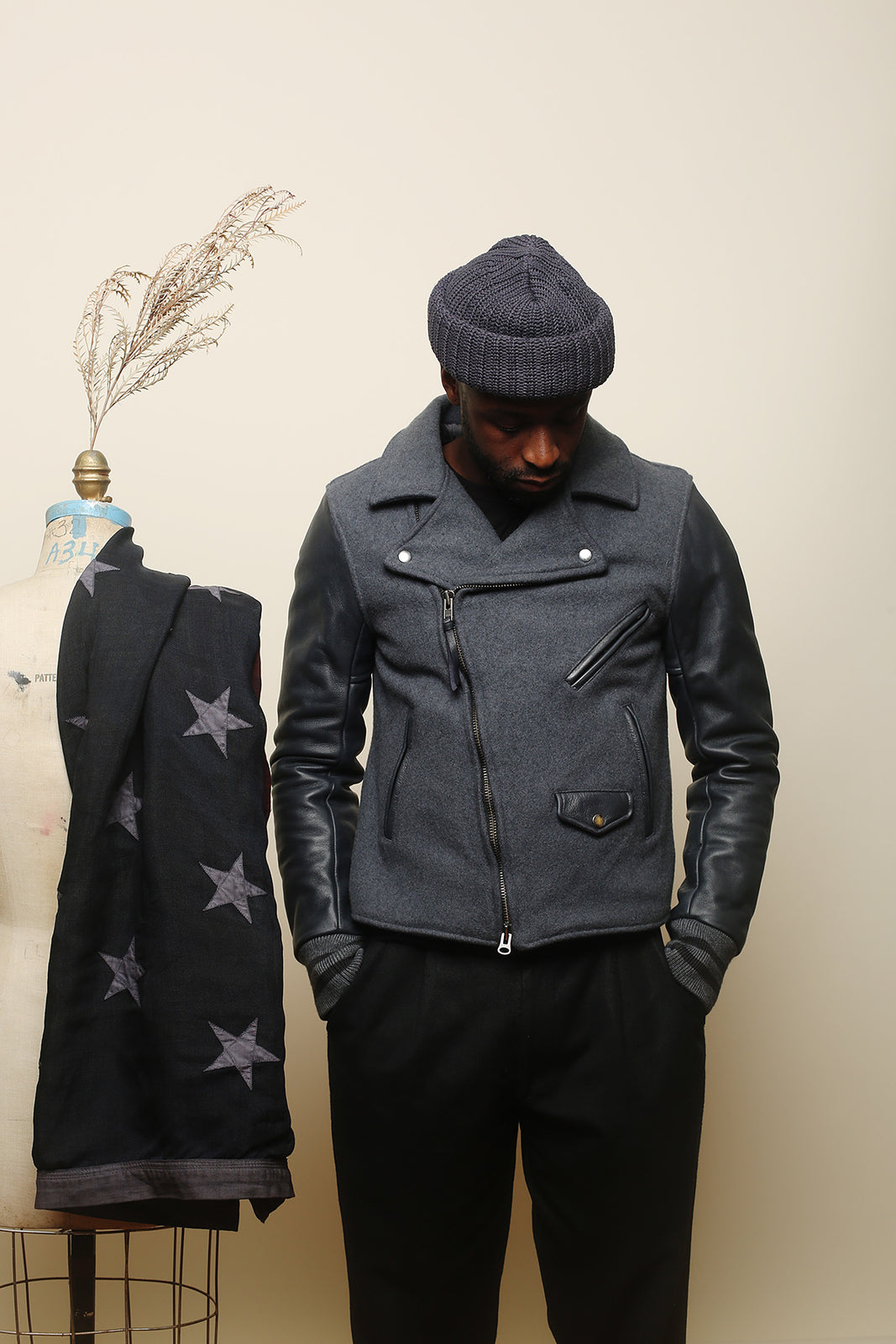 "BKc ""Space Gray"" Moto Varsity"