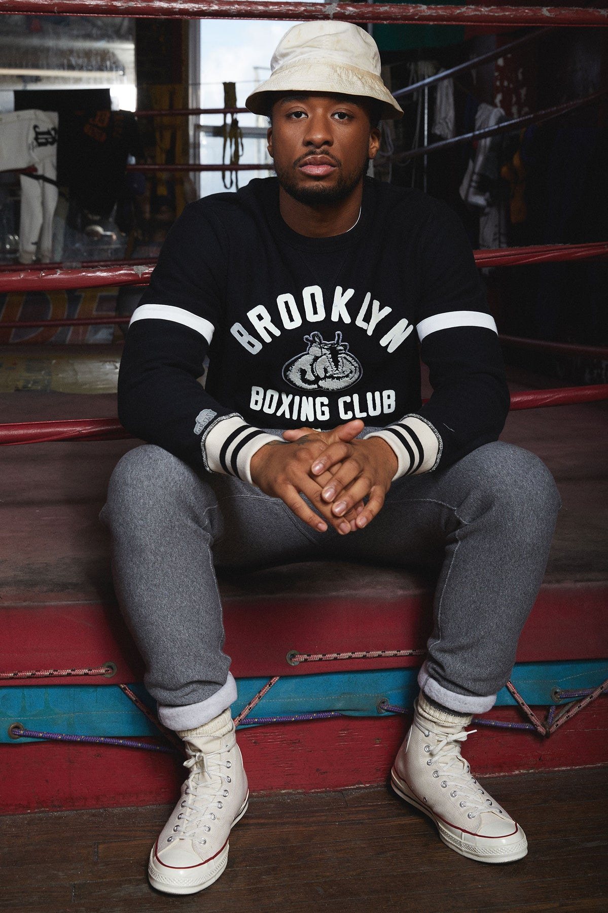 TS x Champion The Brooklyn Circus Boxing Sweatshirt