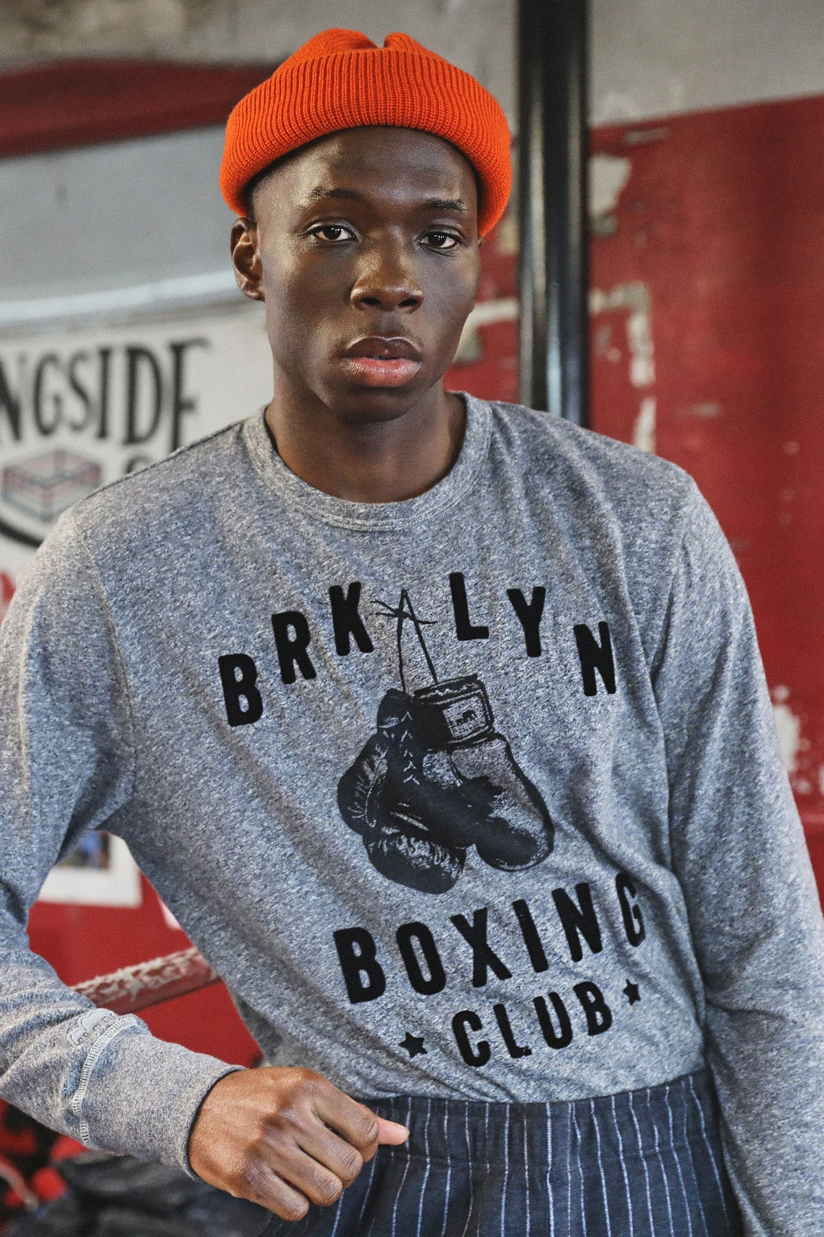 TS x Champion Limited Edition: The Brooklyn Circus Longsleeve Boxing Tee