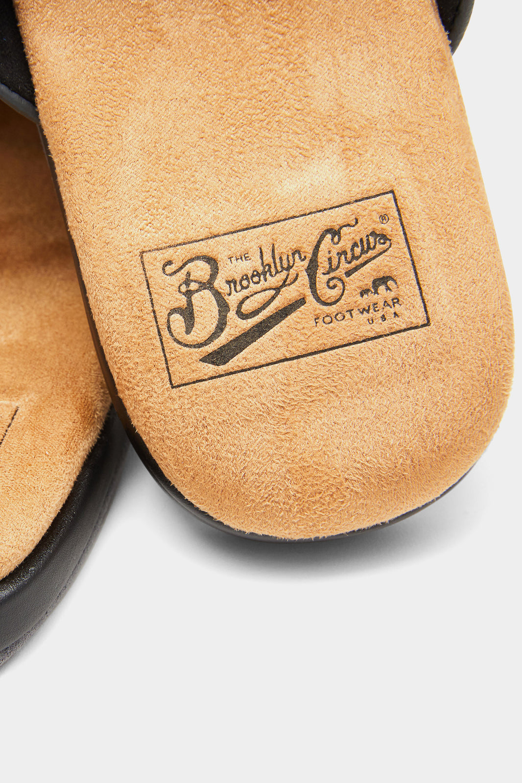 The Brooklyn Circus/BKc Double Black Home Slipper Ver.2