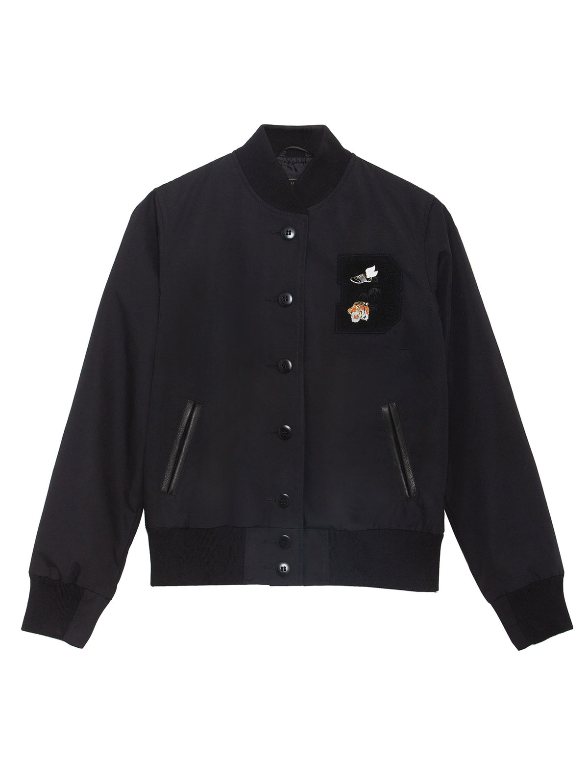 "BKc ""Triple Black"" Cotton Varsity (WOMEN)"