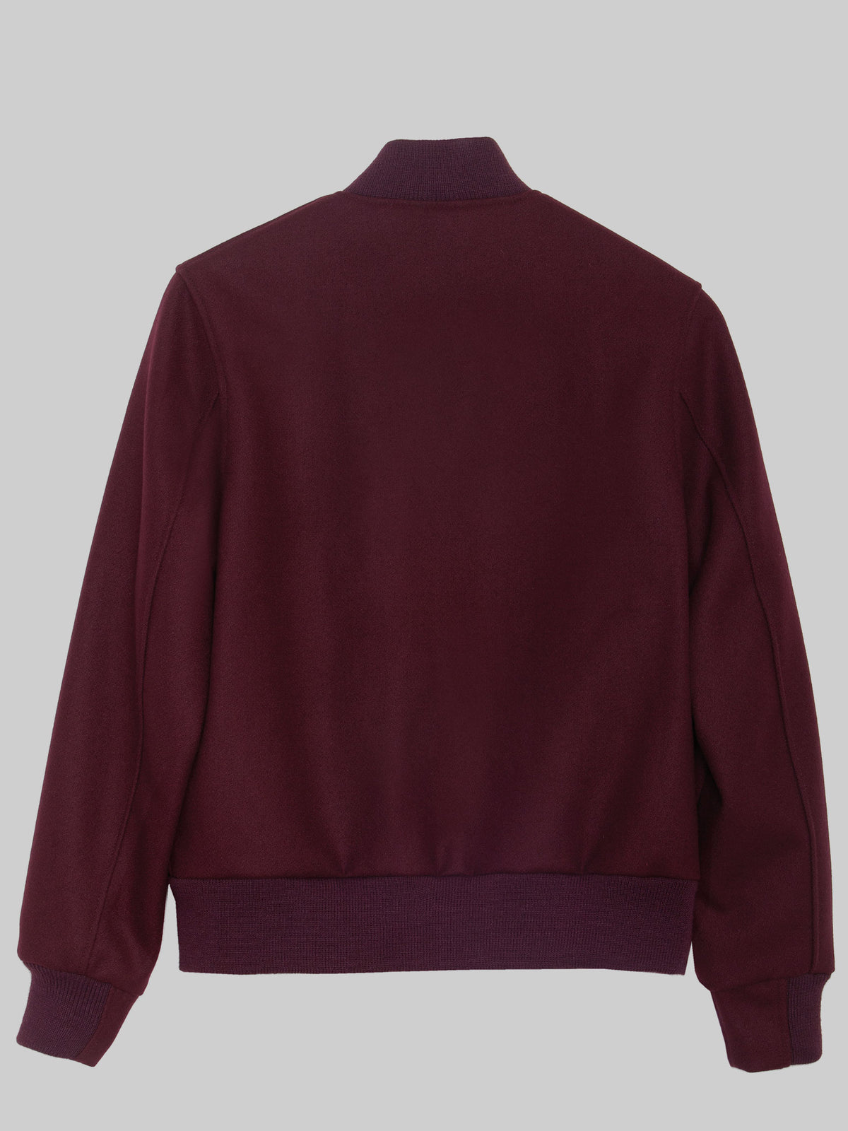 """Ruby Wine"" All Wool Varsity (WOMEN)"