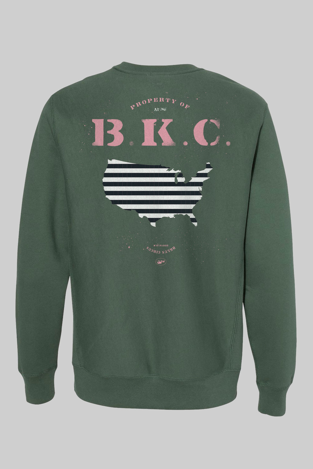 "New ""Release America Crewneck"" (forest Green)"
