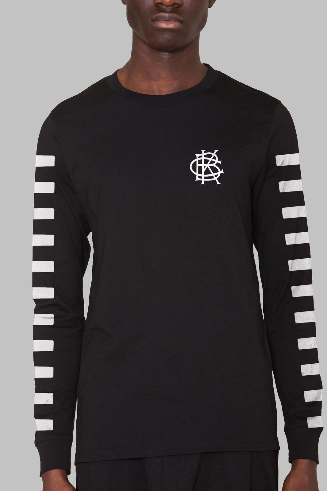 "Long Sleeve ""100Yr Plan Jersey Tee"" (Black)"