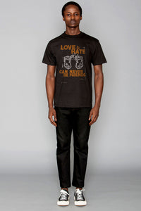 "BKc ""LOVE & HATE"" Black/Orange"