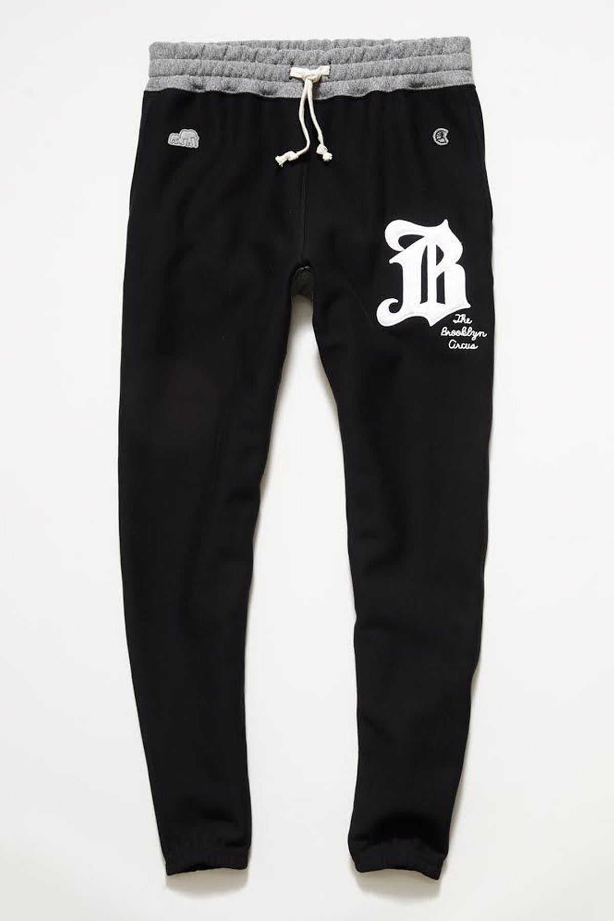 "TS x Champion Limited Edition: The Brooklyn Circus ""B"" Sweatpants in Black"