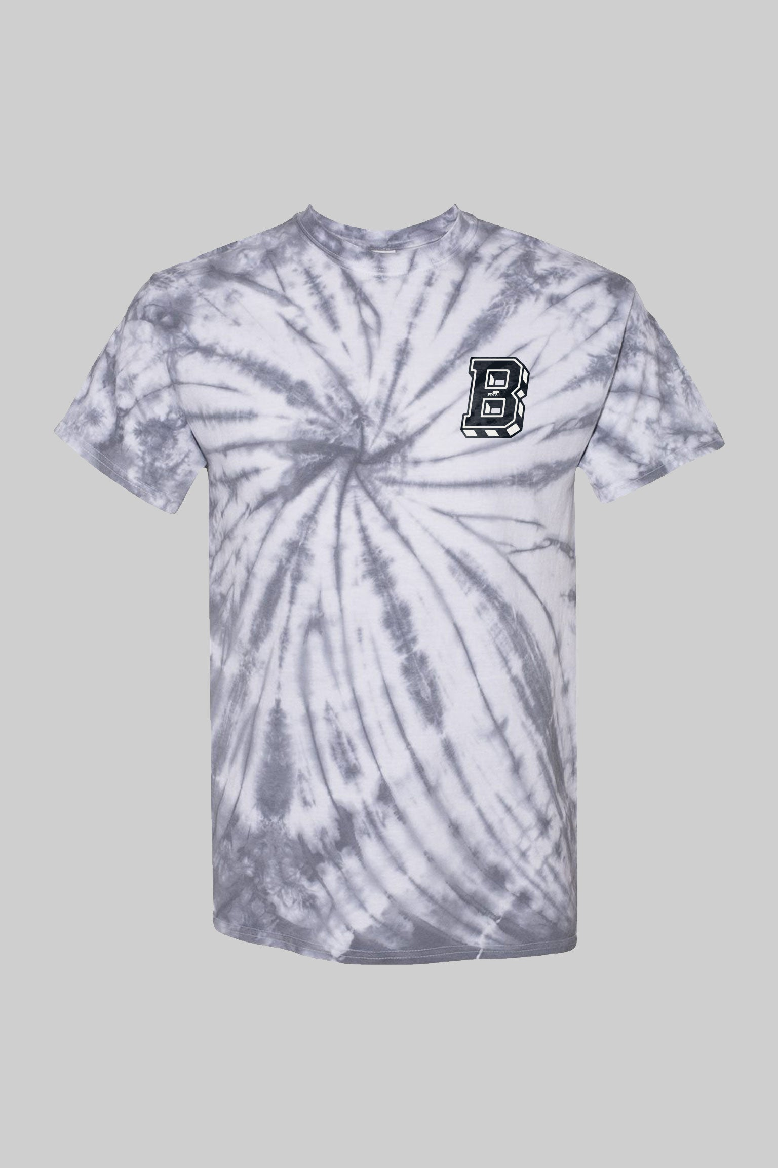 "Heather Grey BKc ""Space"" Tie Dye Tee"