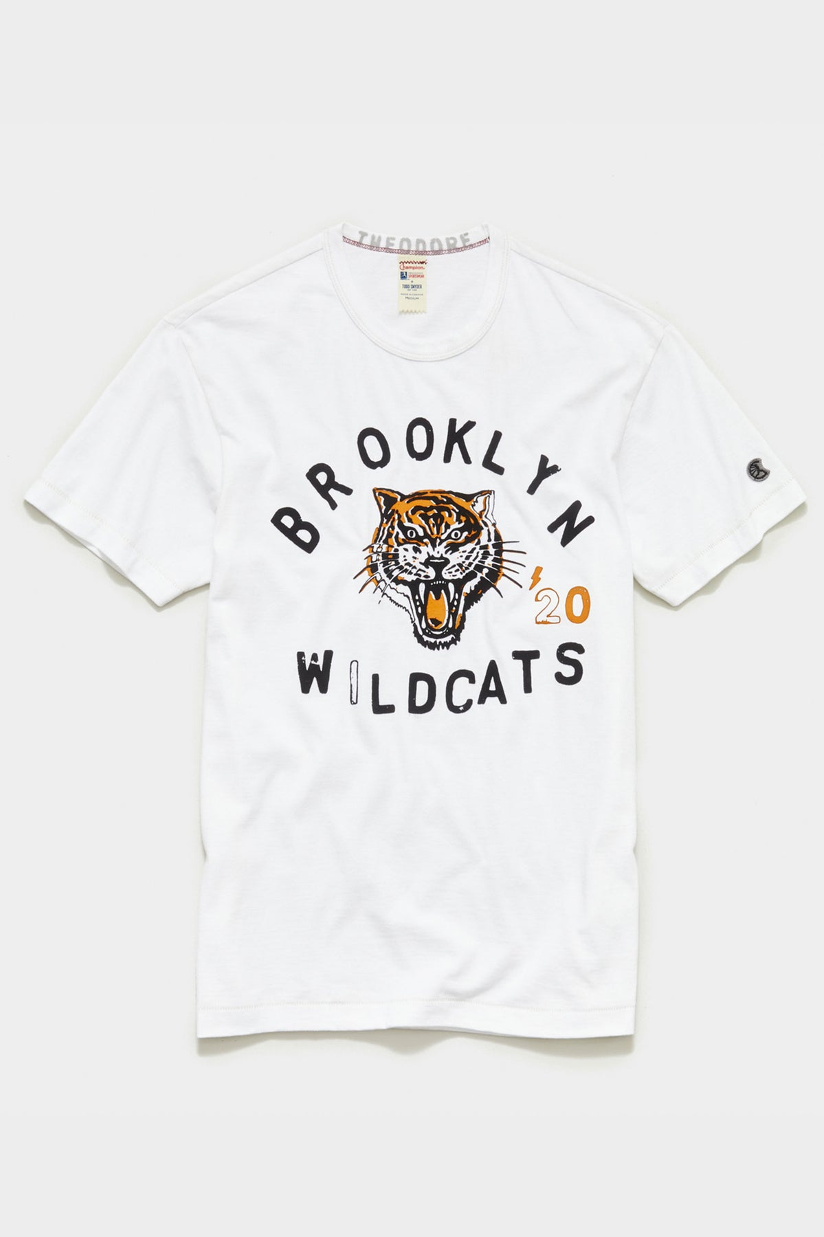TS x Champion Limited Edition: The Brooklyn Circus Wildcats Tee