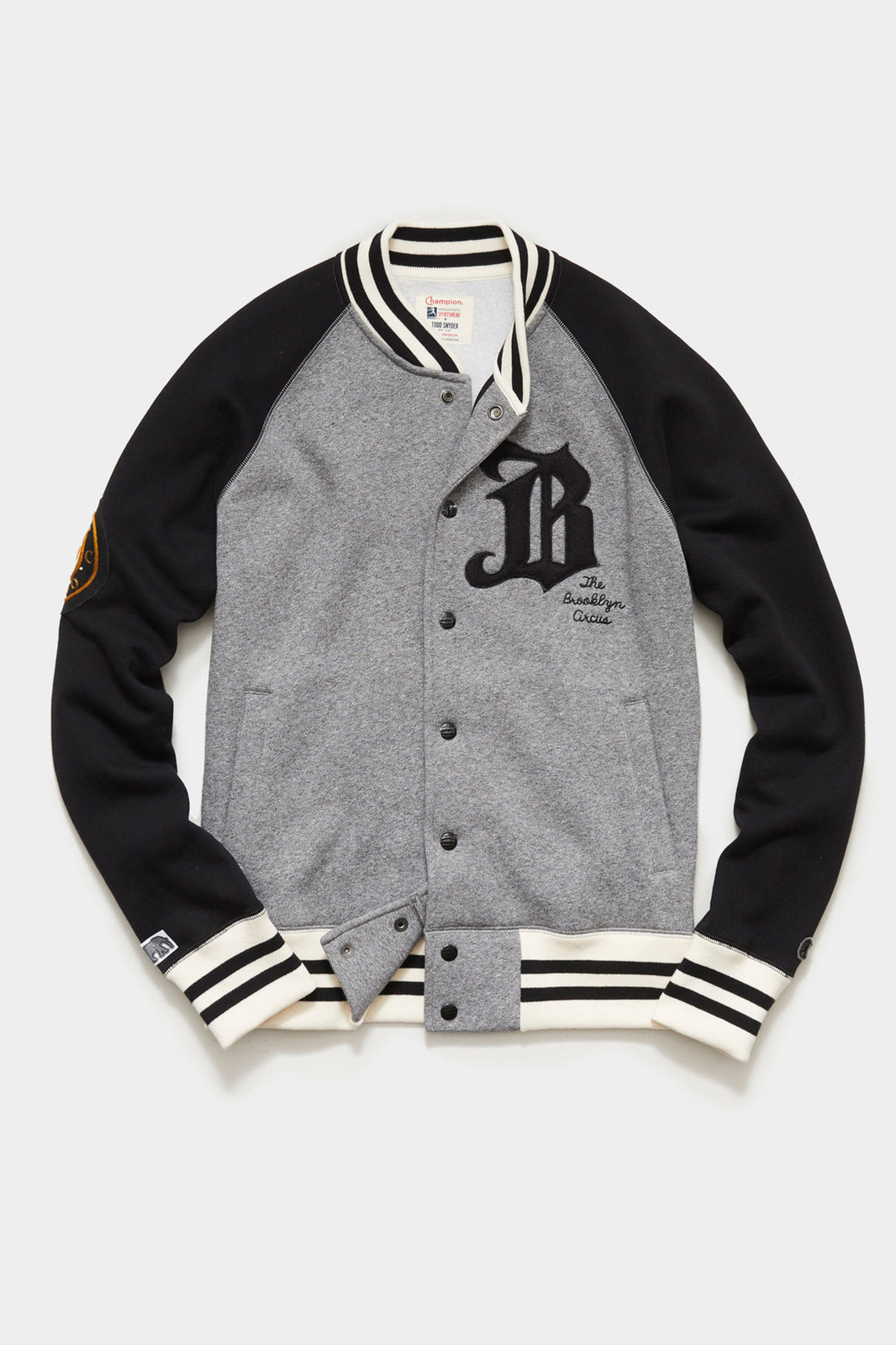 TS x Champion Limited Edition: The Brooklyn Circus Knit Varsity