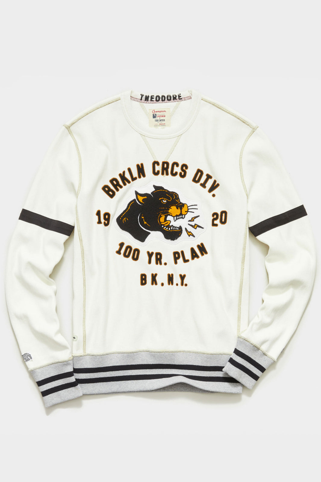 TS x Champion The Brooklyn Circus Cougar Graphic Sweatshirt