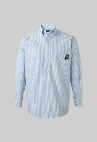 "Stripe Blue BKc ""Oxford"" Shirt"
