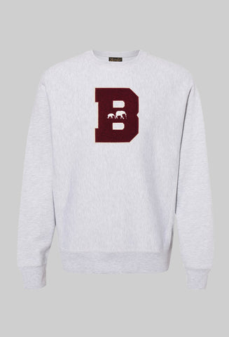 "PRE-ORDER NEW! ""20/20 Classic B Crewneck"" (Heather)"
