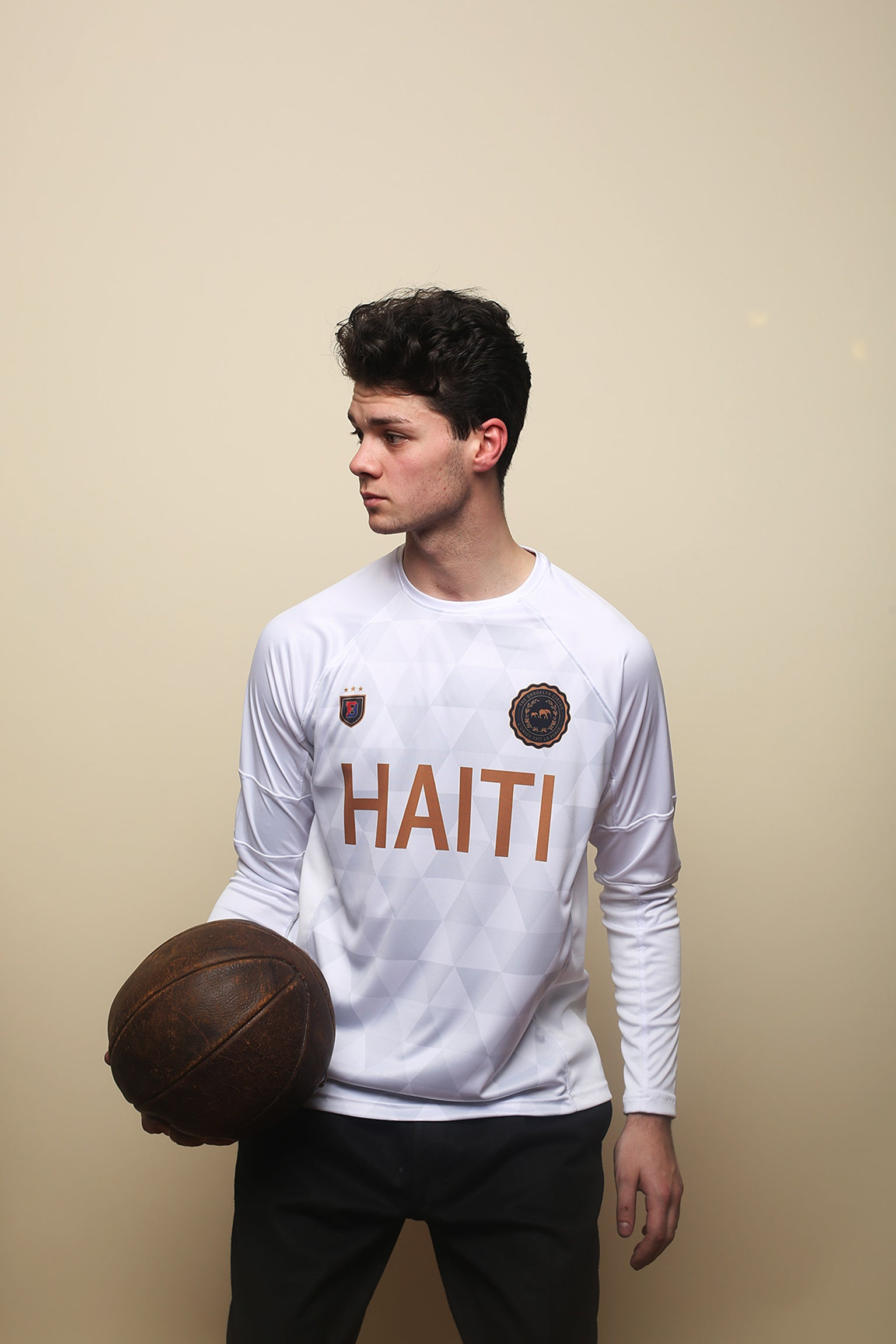 Haiti x BKc Kit White long Sleeve
